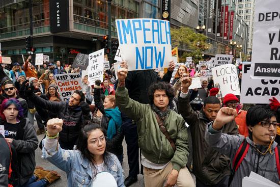 مظاهرات مناهضة لترامب