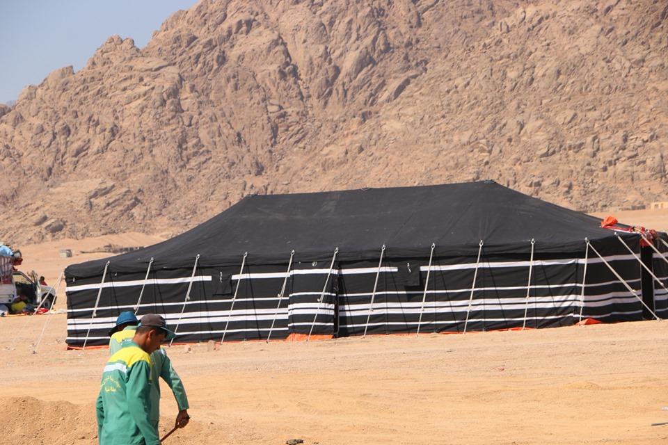 مضمار المهرجان الأول لسباقات رياضات الهجن بمدينة شرم الشيخ (11)