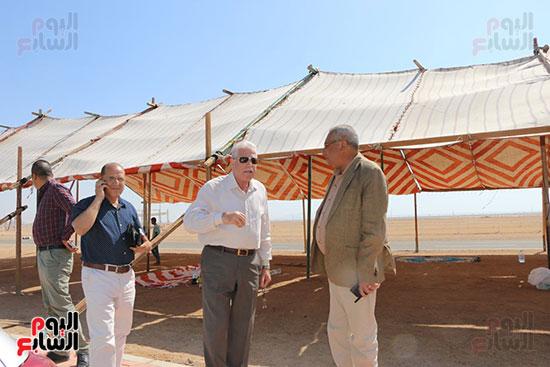 محافظ جنوب سيناء يتفقد الاستعدادت