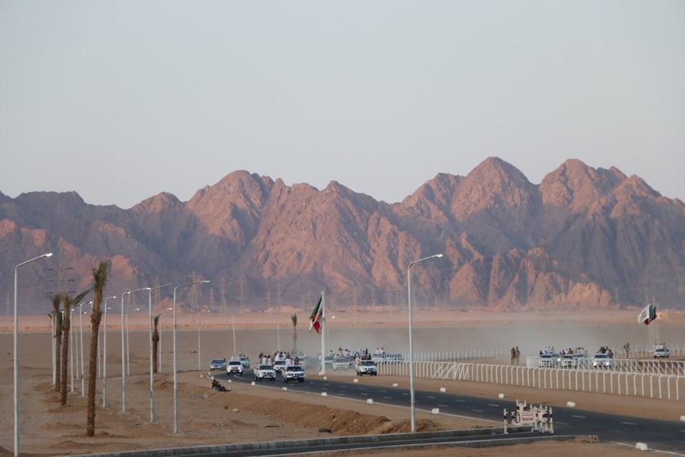 انطلاق فعاليات مهرجان شرم الشيخ الأول للهجن