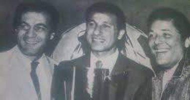 محمود عبد العزيز وبيبو و محمود ياسين