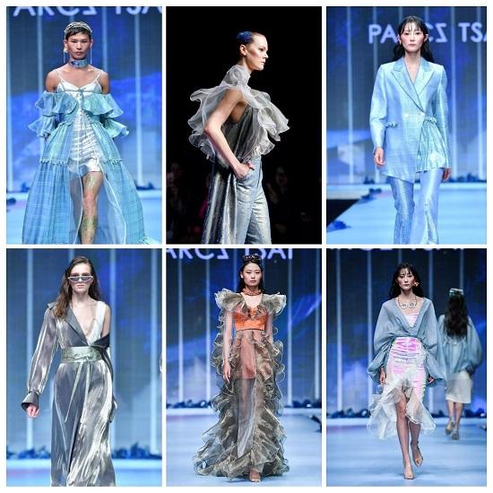أزياء Parcz Tsai المصنوعة من الاورجانزا والتول