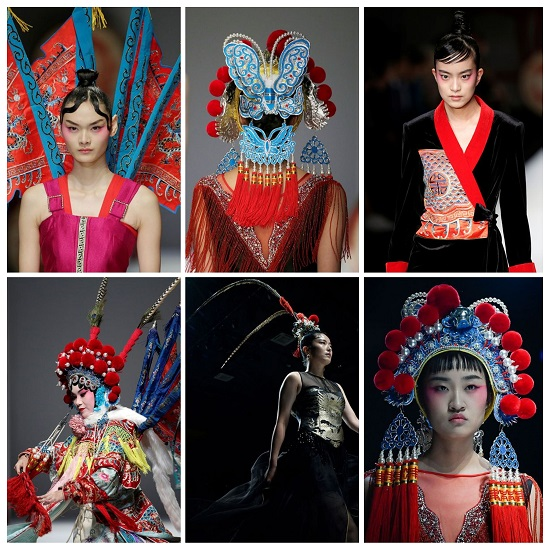 عرض أزياء designer Hao Weimin