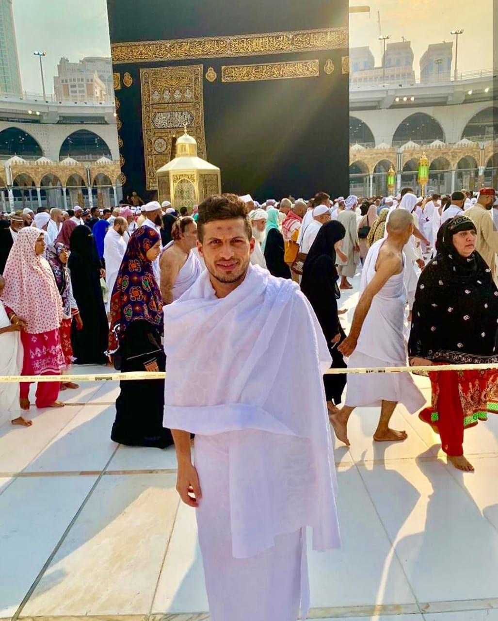 طارق حامد فى العمرة