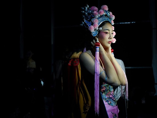 عروض أزياء أسبوع الموضة في الصين