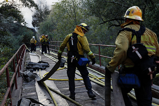أعمال إخماد الحرائق