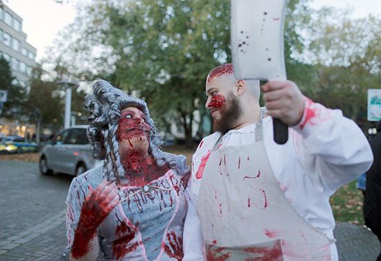 دماء فى الهالووين