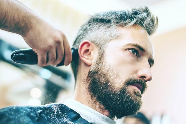 تصفيف الشعر الأبيض