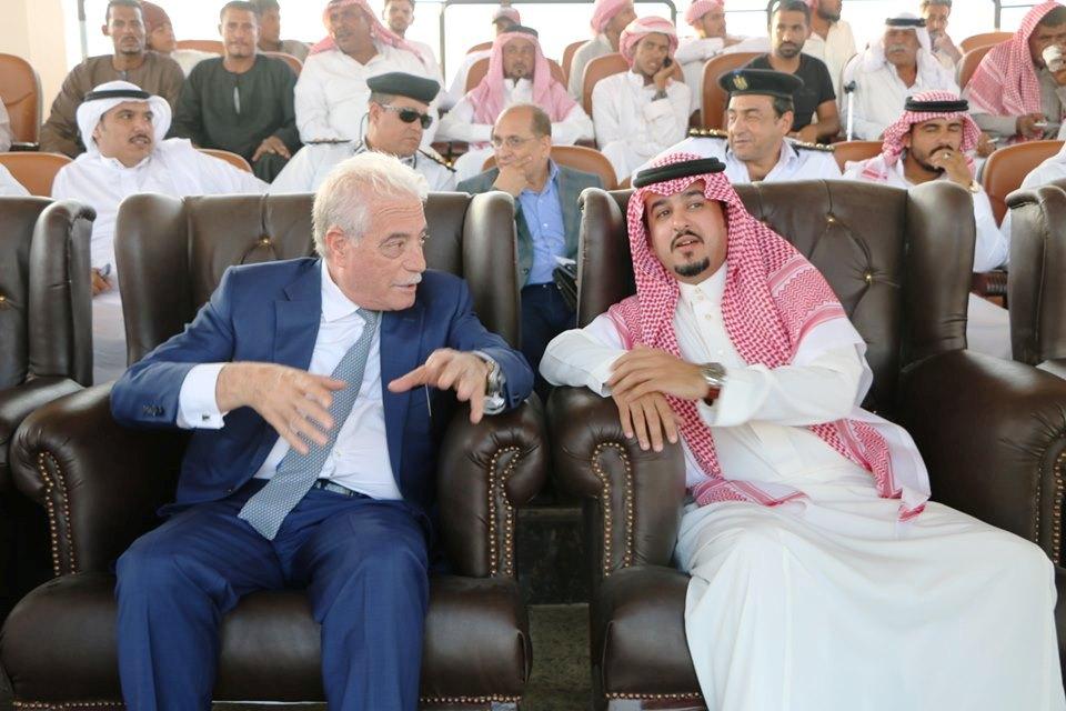 محافظ جنوب سيناء يشهد انطلاق فعاليات مهرجان شرم الشيخ الأول للهجن  (2)