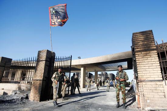 انتشار قوات الأمن بعد اعمال عنف قام بها المحتجين