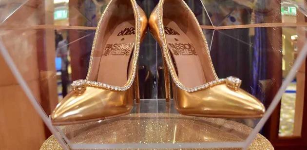 أحذية الماس بسعر 17 مليون دولار