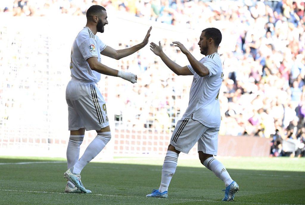 هازارد وبنزيما ثنائى ريال مدريد