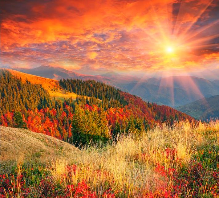 جبال الكاربثيان برومانيا