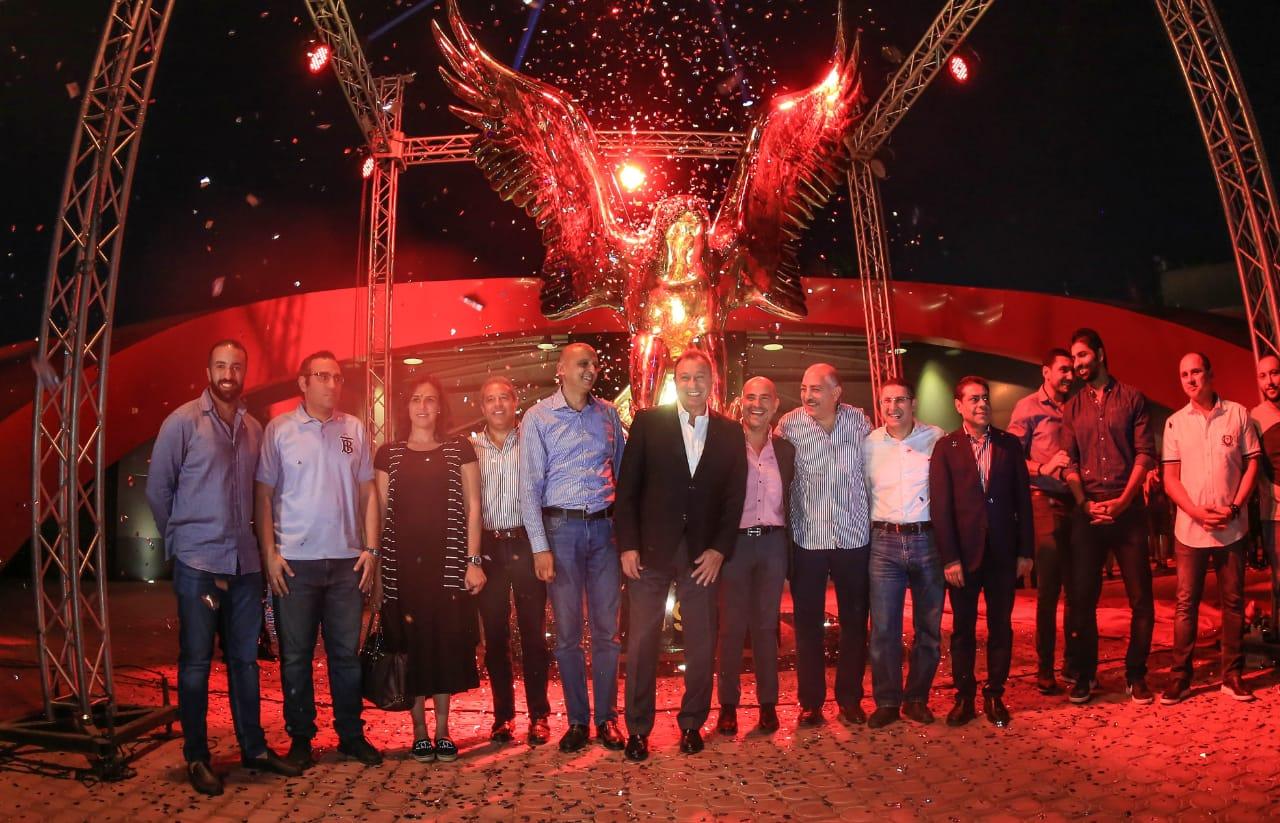 مجلس الاهلي مع نسر القلعة الحمراء