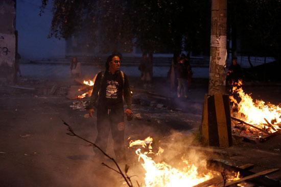 متظاهرى الاكوادور