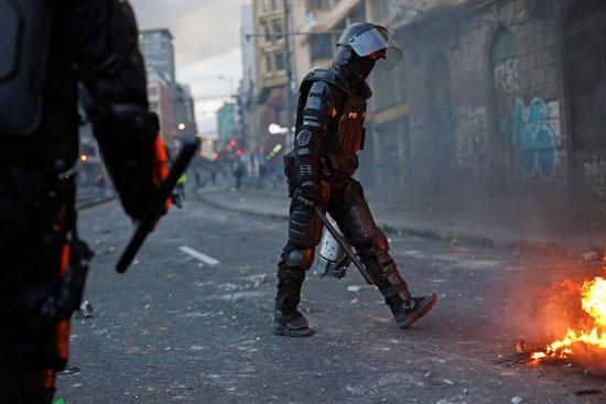 شرطى إكوادورى