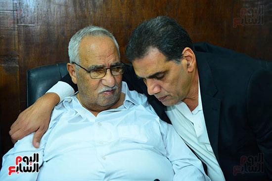 عزاء والد جمال الغندور (1)
