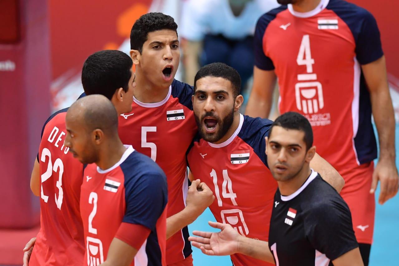 منتخب مصر للطائرة فى مونديال اليابان (1)