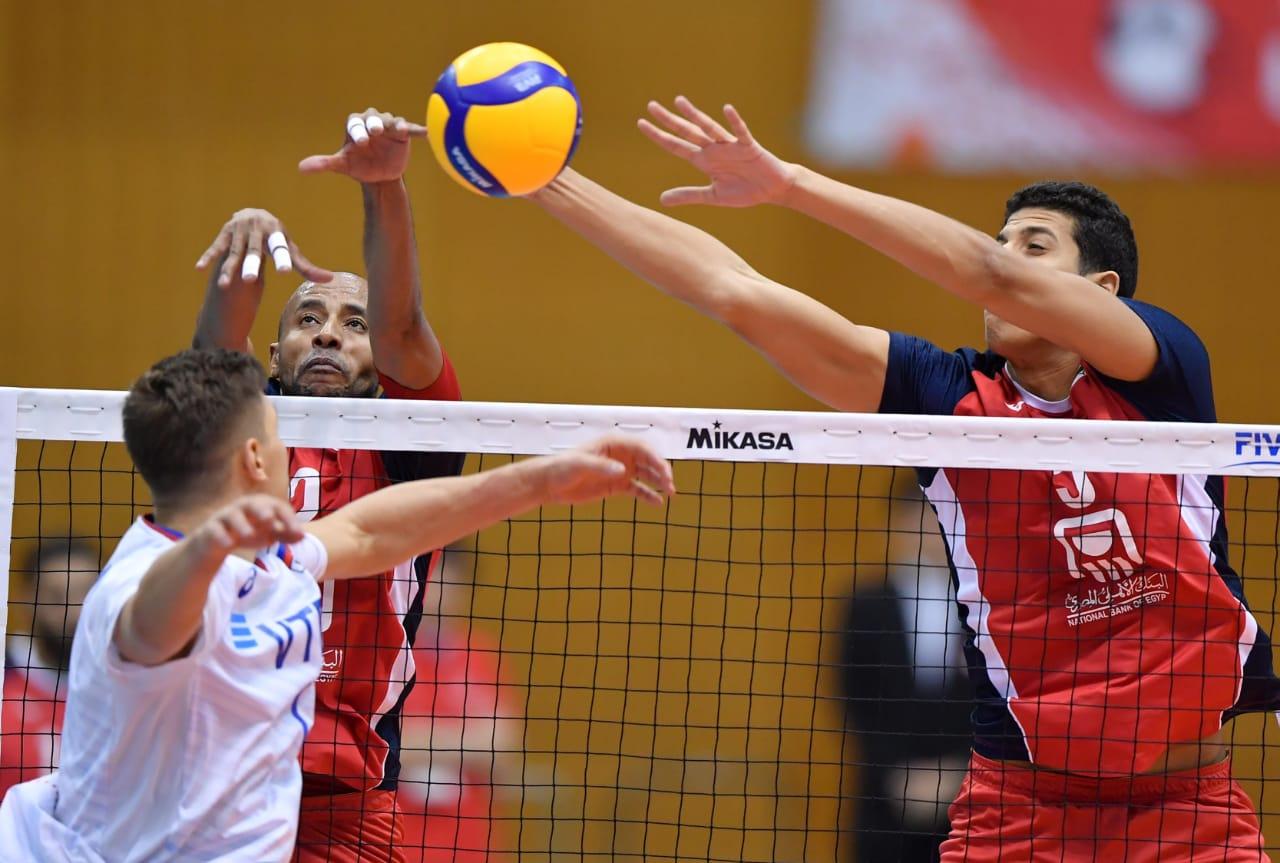 منتخب مصر للطائرة فى مونديال اليابان (4)