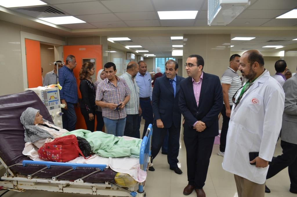 2- تفقد مستشفى الإسماعيلية العام