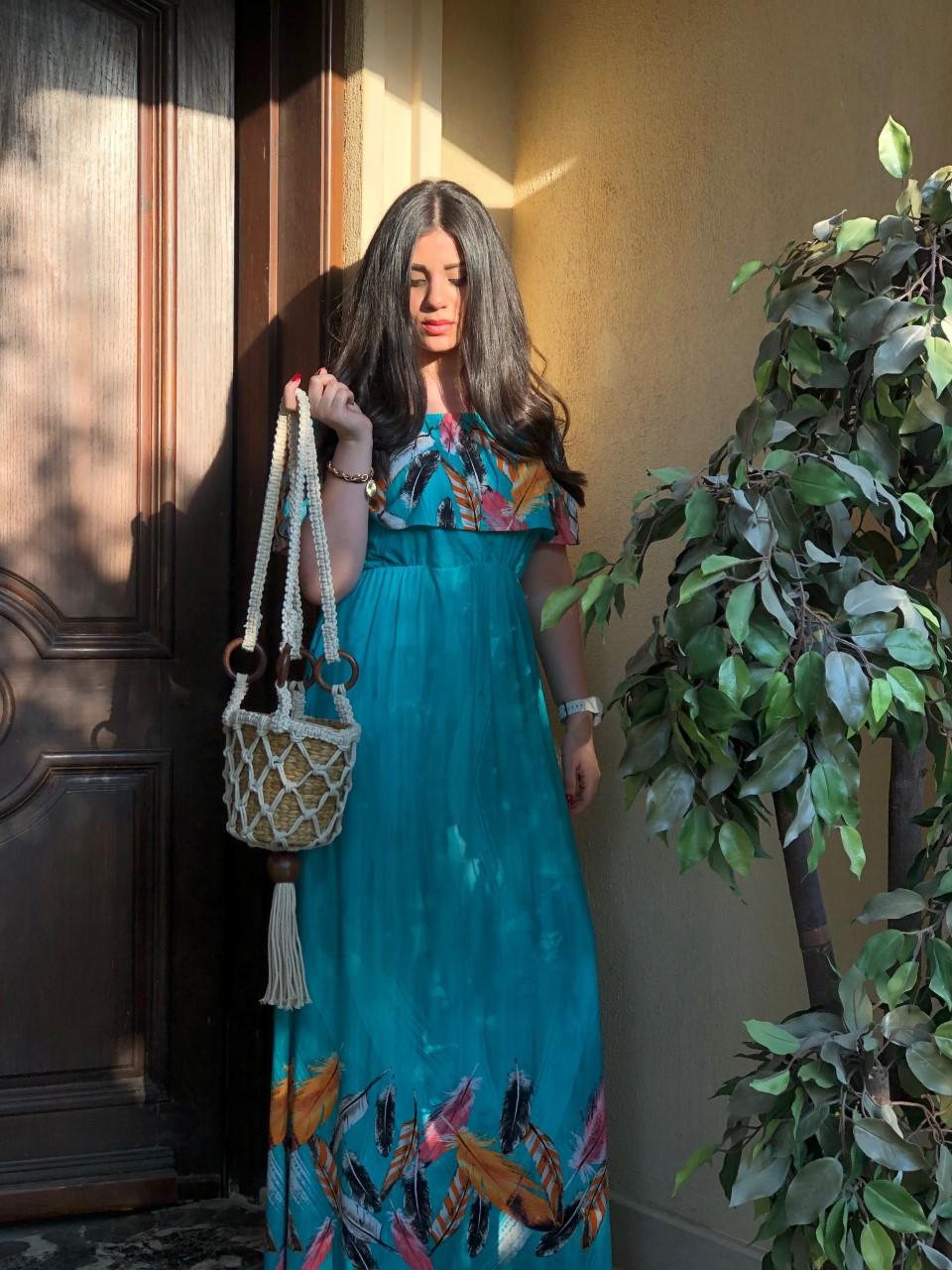 فستان مصرى