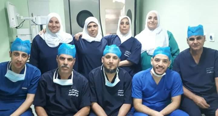 فريق الجراحة بعد العمليات