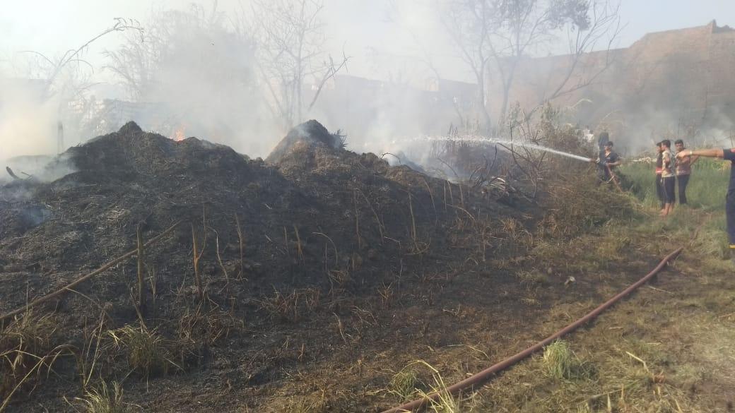 الحماية المدنية تنهي الحريق