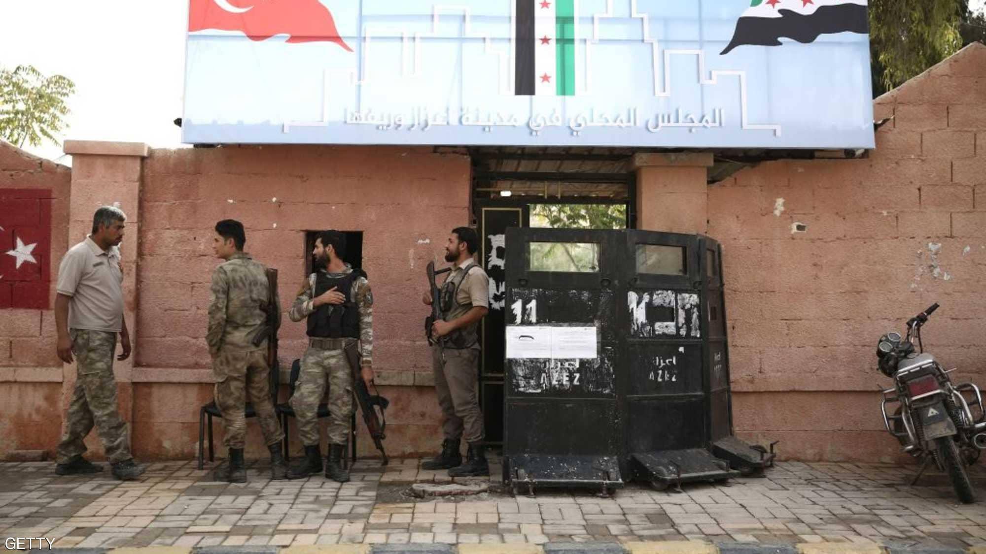 احتلال تركى لشمال سوريا