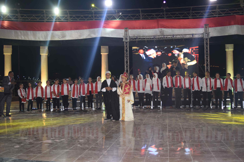 محافظ المنيا يحتفل بذكرى أكتوبر (11)