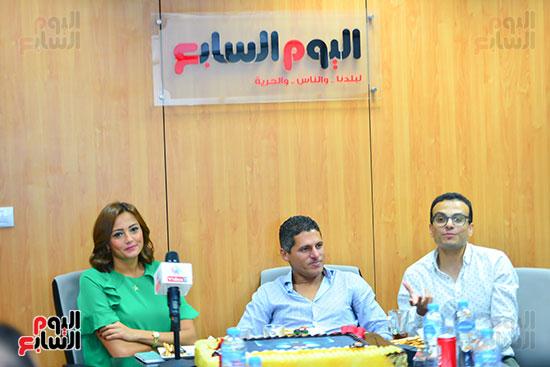 صناع مهرجان الجونة يحتفلون مع اليوم السابع  (22)