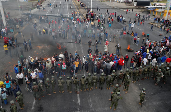 العنف فى الاكوادور