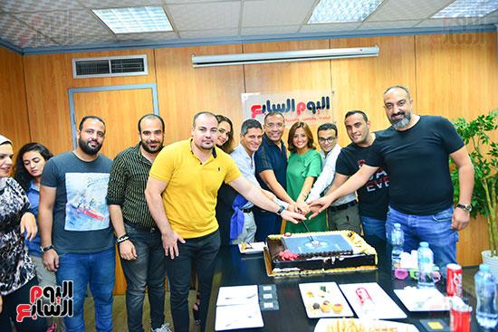 صناع مهرجان الجونة يحتفلون مع اليوم السابع  (25)