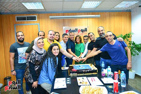 صناع مهرجان الجونة يحتفلون مع اليوم السابع  (27)