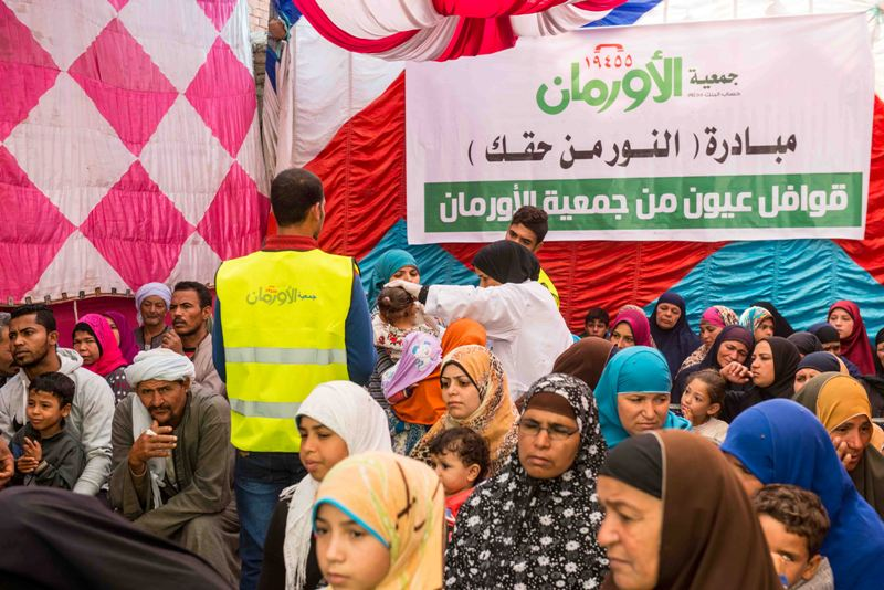 قافلة مبادرة النور من حقك تصل قرية شبرا ملس بالغربية (4)