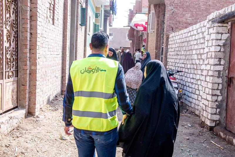 قافلة مبادرة النور من حقك تصل قرية شبرا ملس بالغربية (2)