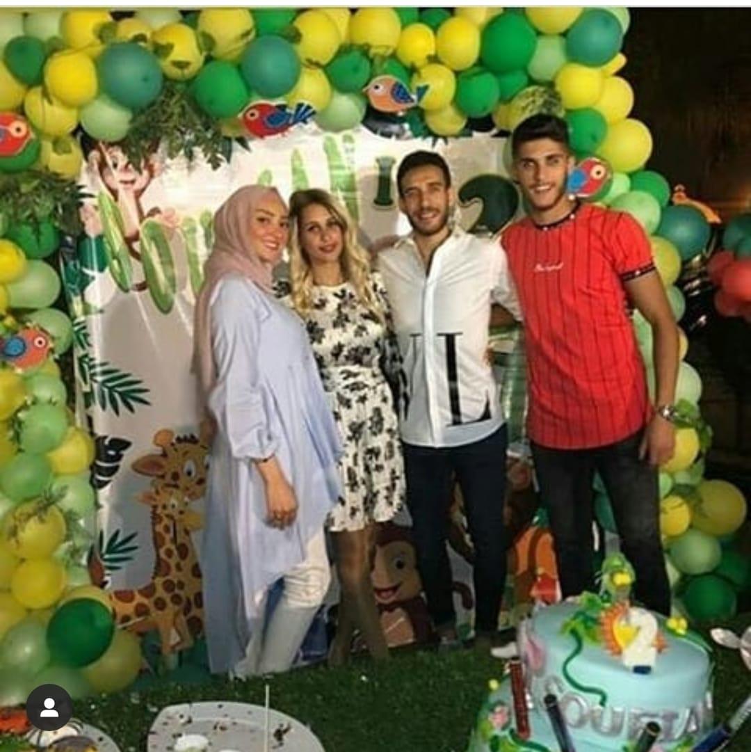 عيد ميلاد نجل هشام محمد 1