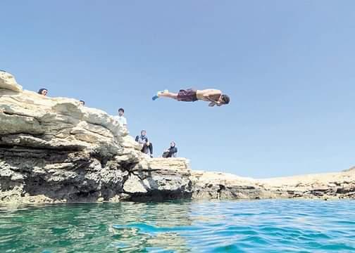 31-السباحة في بحيرة النيزك متعه