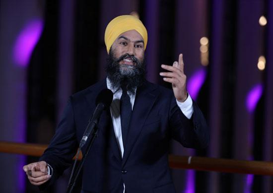 سينج زعيم الحزب الديمقراطي الجديد (NDP)