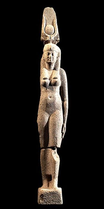 تمثال-للملكة-البطلمية