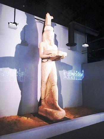 تمثال-أثرى