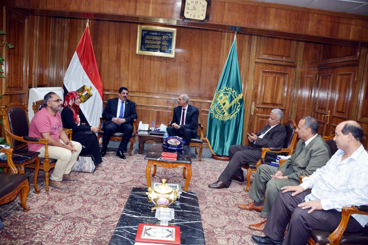 اجتماع منظومة الشكاوى مع محافظة القليوبية