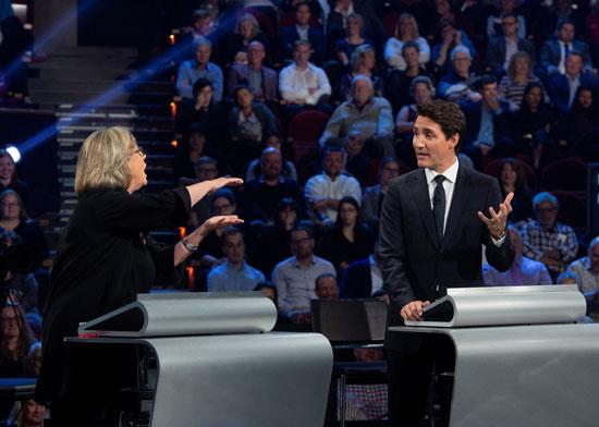 مناظرة ساخنة قبل الانتخابات الكندية