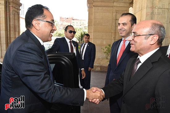 مصطفى مدبولى يدخل مجلس النواب