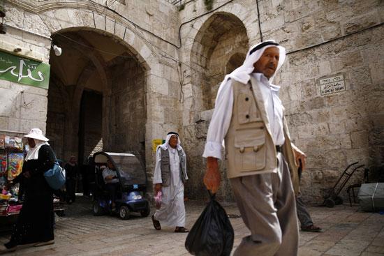بوابة فى القدس القديمة