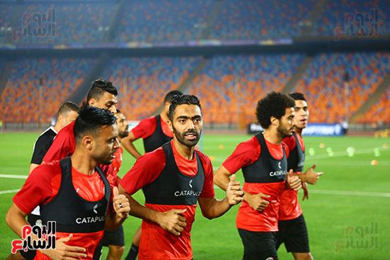 حسين الشحات مع المنتخب