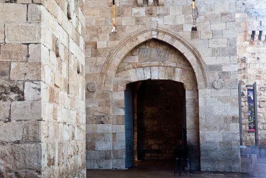 بوابة ضمن بوابات القدس القديمة
