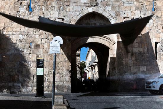 إحدى بوابة القدس القديمة