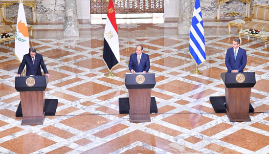 قمة ثلاثية فى القاهرة (3)