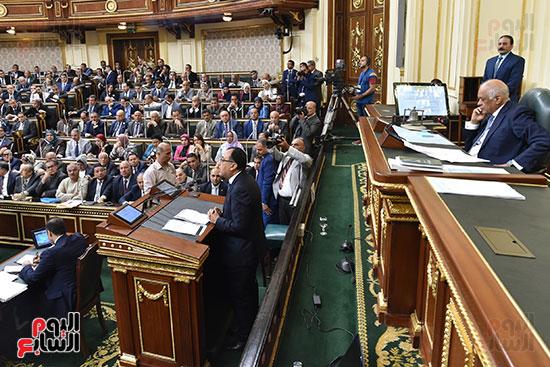 جلسة مجلس النواب بحضور رئيس الوزراء