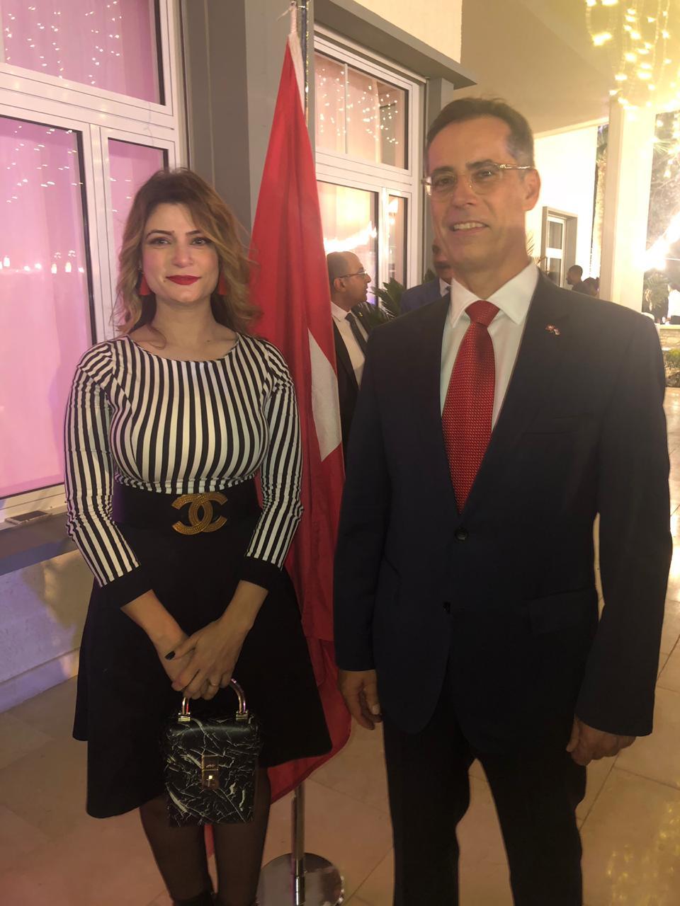سفير سويسرا بالقاهرة